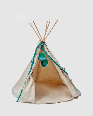 Nana Huchy Doll's Teepee - Home (Blue)