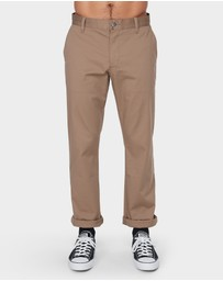 RVCA - The Weekend Stretch Pants