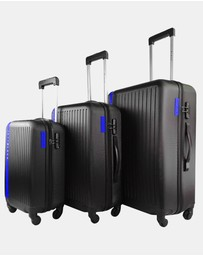JETT BLACK - Jetsetter Blue Luggage Set