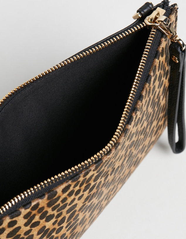 Whistles - Hampton Leopard Wristlet Cross-Body Bag
