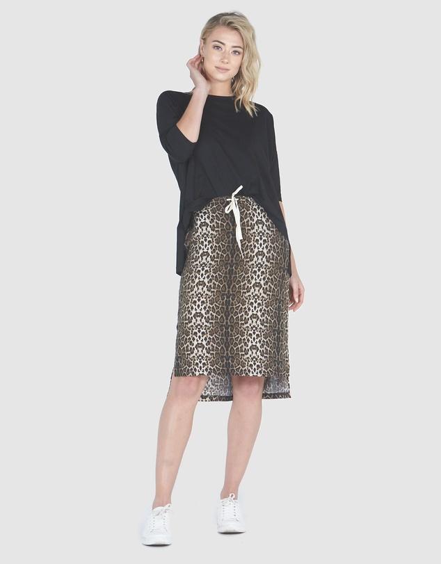 Women High-Low Skirt