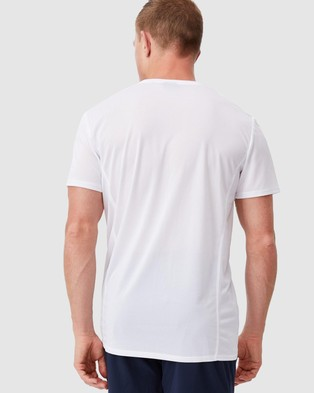Cotton On - Active Tech T Shirt Short Sleeve T-Shirts (White) T-Shirt