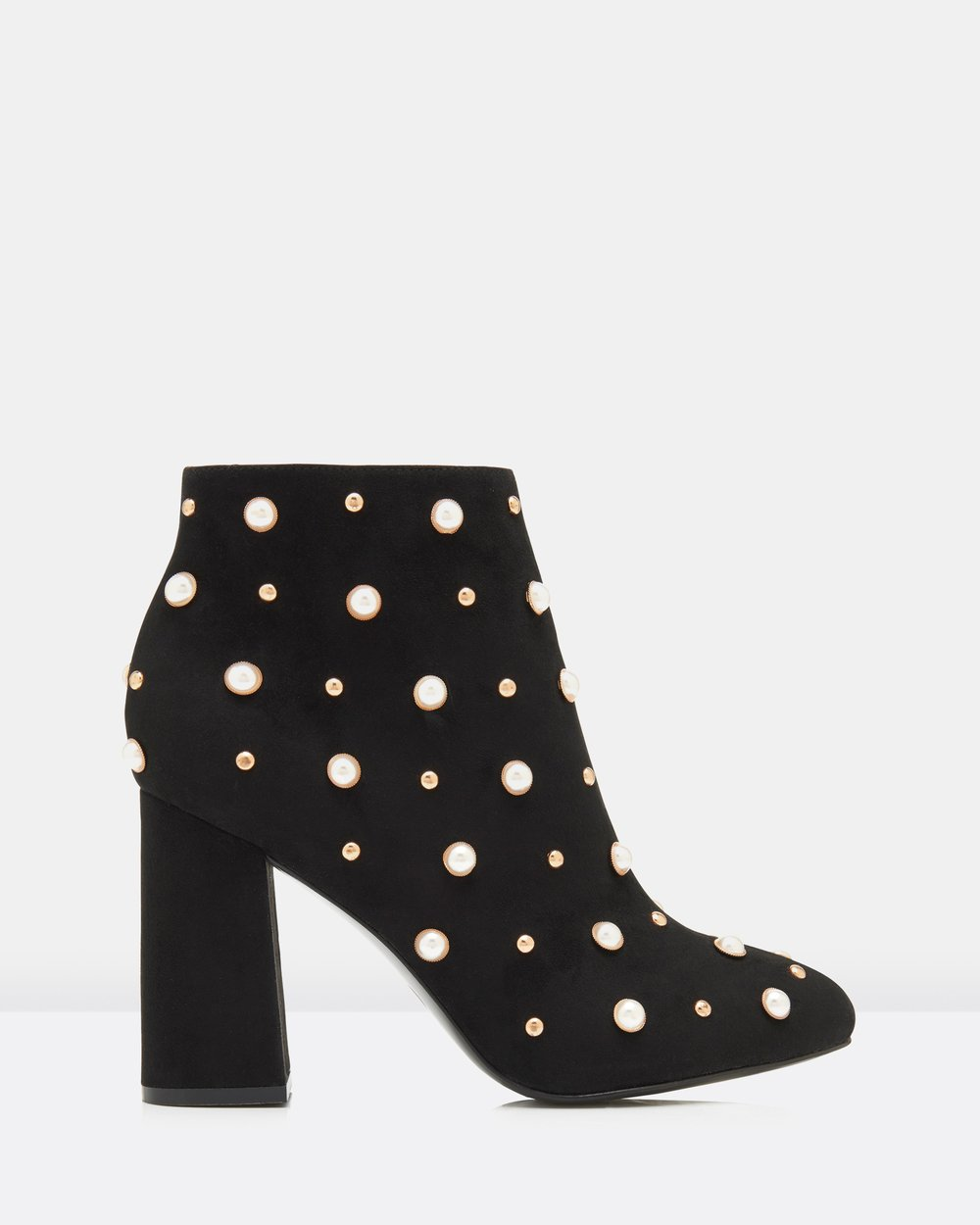c2955dac5fe Becca Pearl Trim Ankle Boots by Forever New Online | THE ICONIC ...