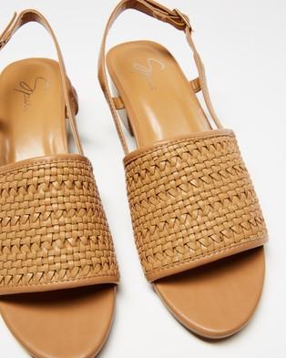 SPURR Ios Heels - Sandals (Tan Smooth)