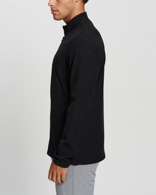 TravisMathew Road Soda 2.0 Full Zip Golf Jacket - Coats & Jackets (Black)