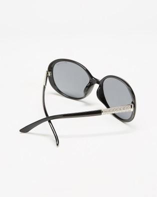 Mestige Jocelyn with Swarovski?« Crystals - Sunglasses (Black)