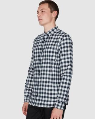Element Goodwin Woven Shirt - Shirts & Polos (ECLIPSE NAVY)