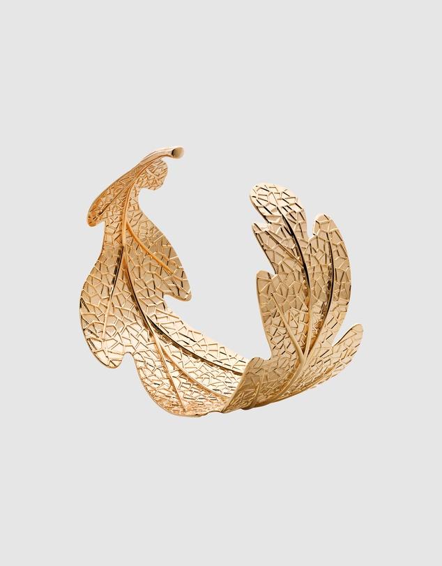 Women Oak Leaf Cuff