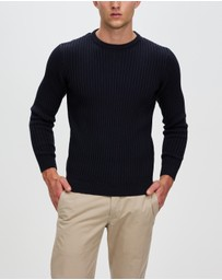 Staple Superior - Organic Sawyer Rib Crew Knit