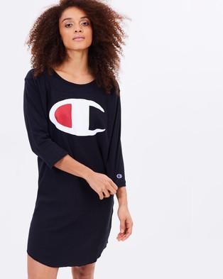 Champion Life – Baseball Dress – Dresses (Black)