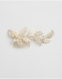 Ivory Knot - Belle Hair Comb