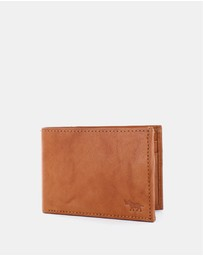 Wild Rhino - Tri Fold Leather Wallet