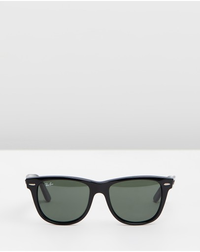 Ray-ban Wayfarer Black & Crystal Green