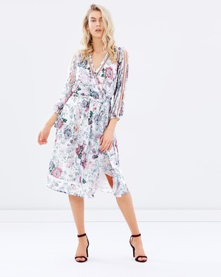We Are Kindred – Primrose Split Sleeve Midi Dress Botanica