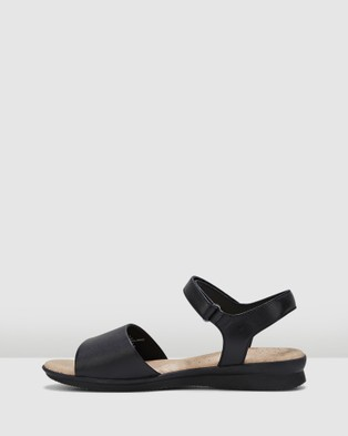 Hush Puppies Nigella Pl - Sandals (Black)