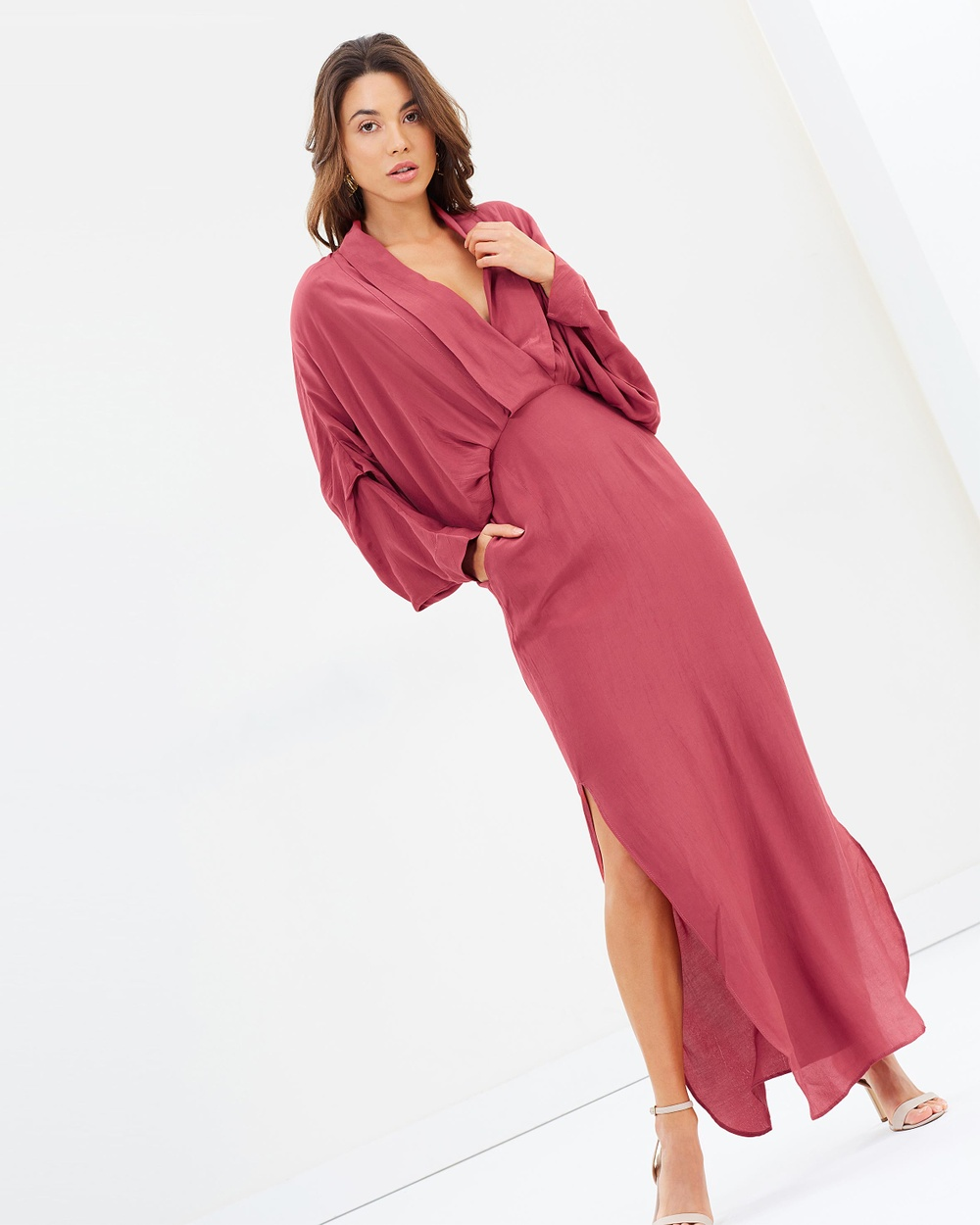 S-W-F Serene Dress Bridesmaid Dresses Sangria Serene Dress