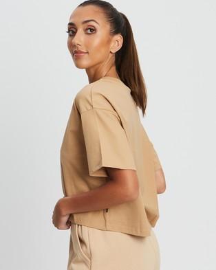 BWLDR - Rani T Shirt T-Shirts & Singlets (Tan) T-Shirt