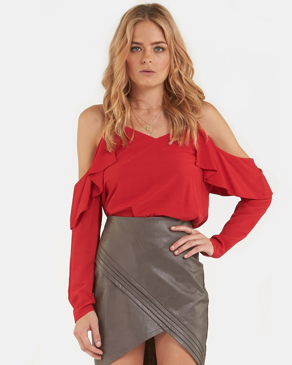 Amelius Milly Top Tops Red Milly Top