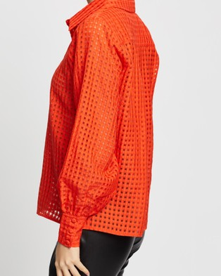 Wish The Label Captivate Shirt - Tops (Flame)
