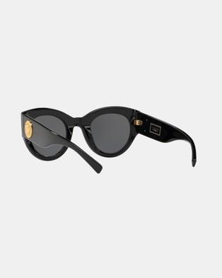 Versace Versace Tribute Sunglasses - Sunglasses (Black & Grey)