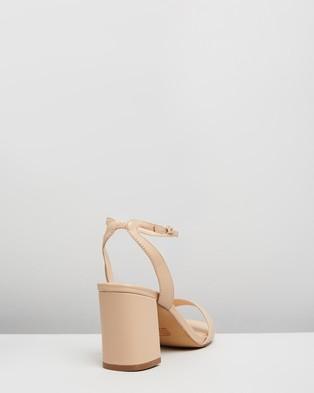 Atmos&Here Kim Leather Heels - Heels (Nude Leather)