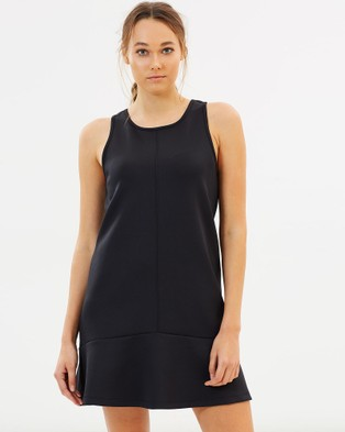 M Active – Layla Luxe Sports Dress – Dresses (Black)