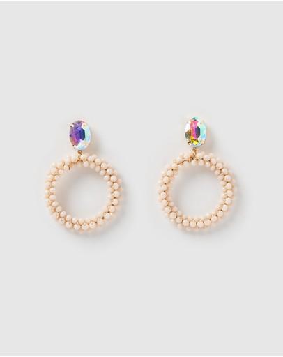 Izoa Virtuoso Earrings Pink