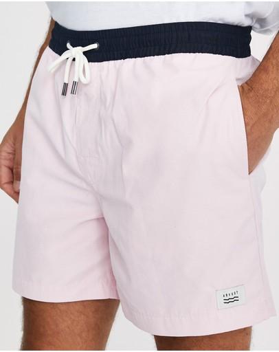 Arvust Newport Volley Boardshorts Pink