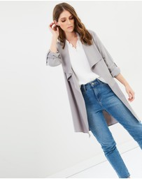 Dorothy Perkins - Waterfall Longline Duster Coat