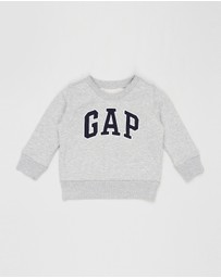 babyGap - Logo Crew Fleece Sweat - Kids