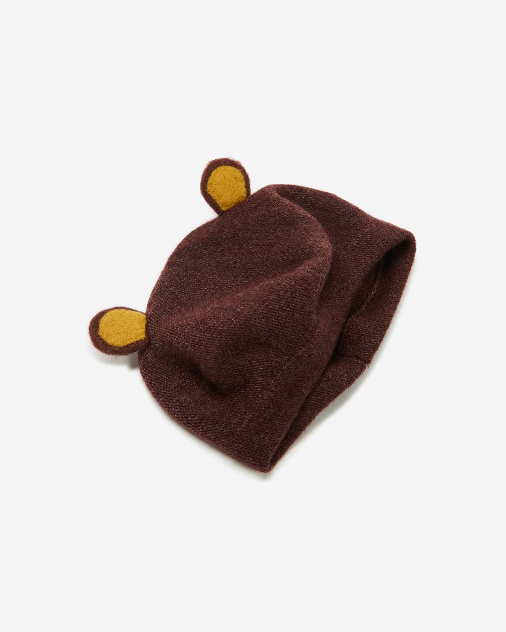 Billy Loves Audrey Beret with Ears Kids Hats Brown