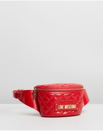 LOVE MOSCHINO - Quilted Bum Bag