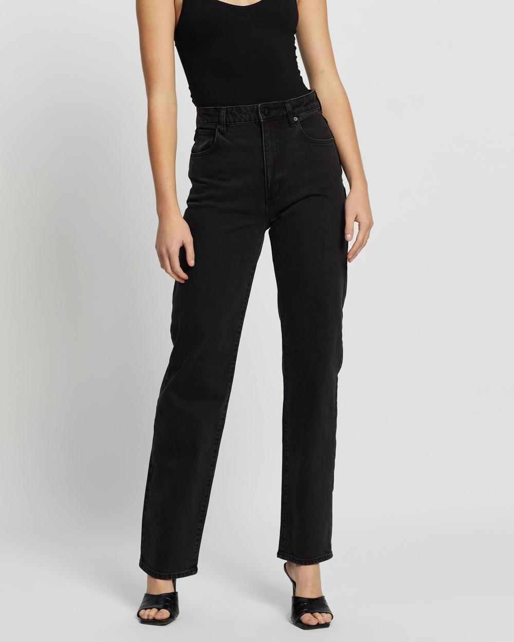 Abrand A '94 High Straight Jeans High-Waisted Teri