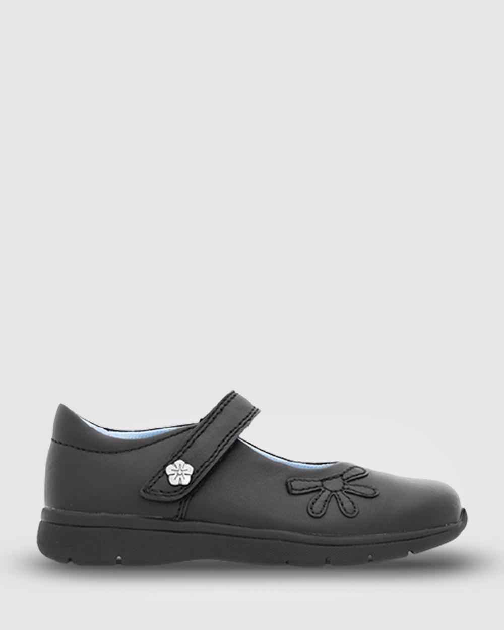Ascent Trista 2 School Shoes Black Australia