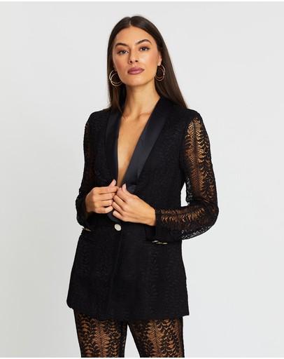Runaway Primavera Blazer Black Lace