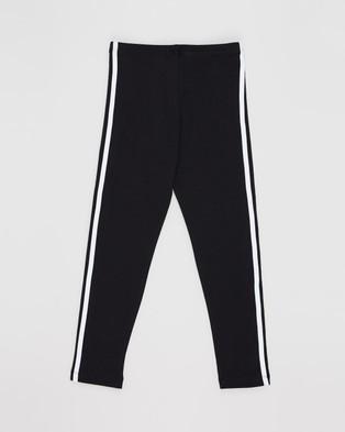 adidas Originals Leggings   Kids - Pants (Black & White)