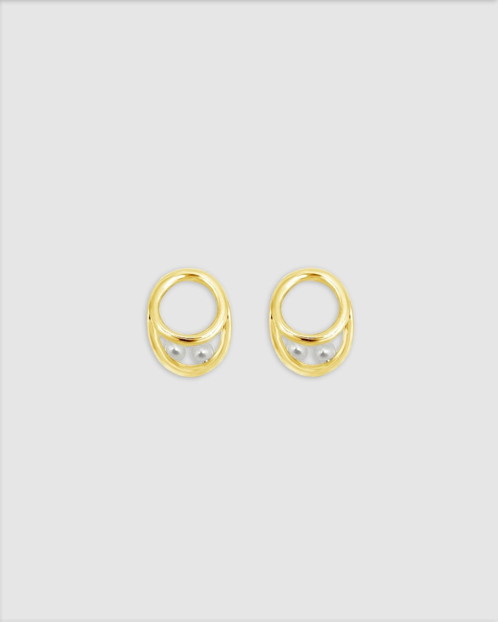 Ichu Eternal Pearls, Gold Jewellery Gold Plated