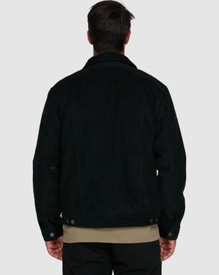 RVCA Easy Trucker Ii - Coats & Jackets (RVCA BLACK)