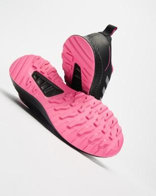 adidas Performance Run Falcon 2.0 TR   Women's - Training (Core Black, Metallic Silver & Screaming Pink)