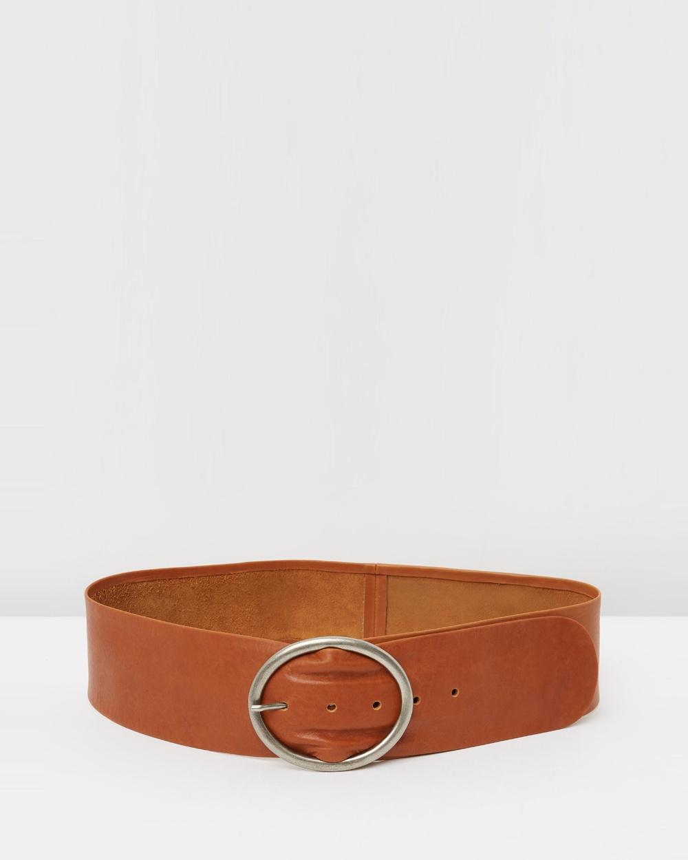 Loop Leather Co Peyton Belts Cognac Tan