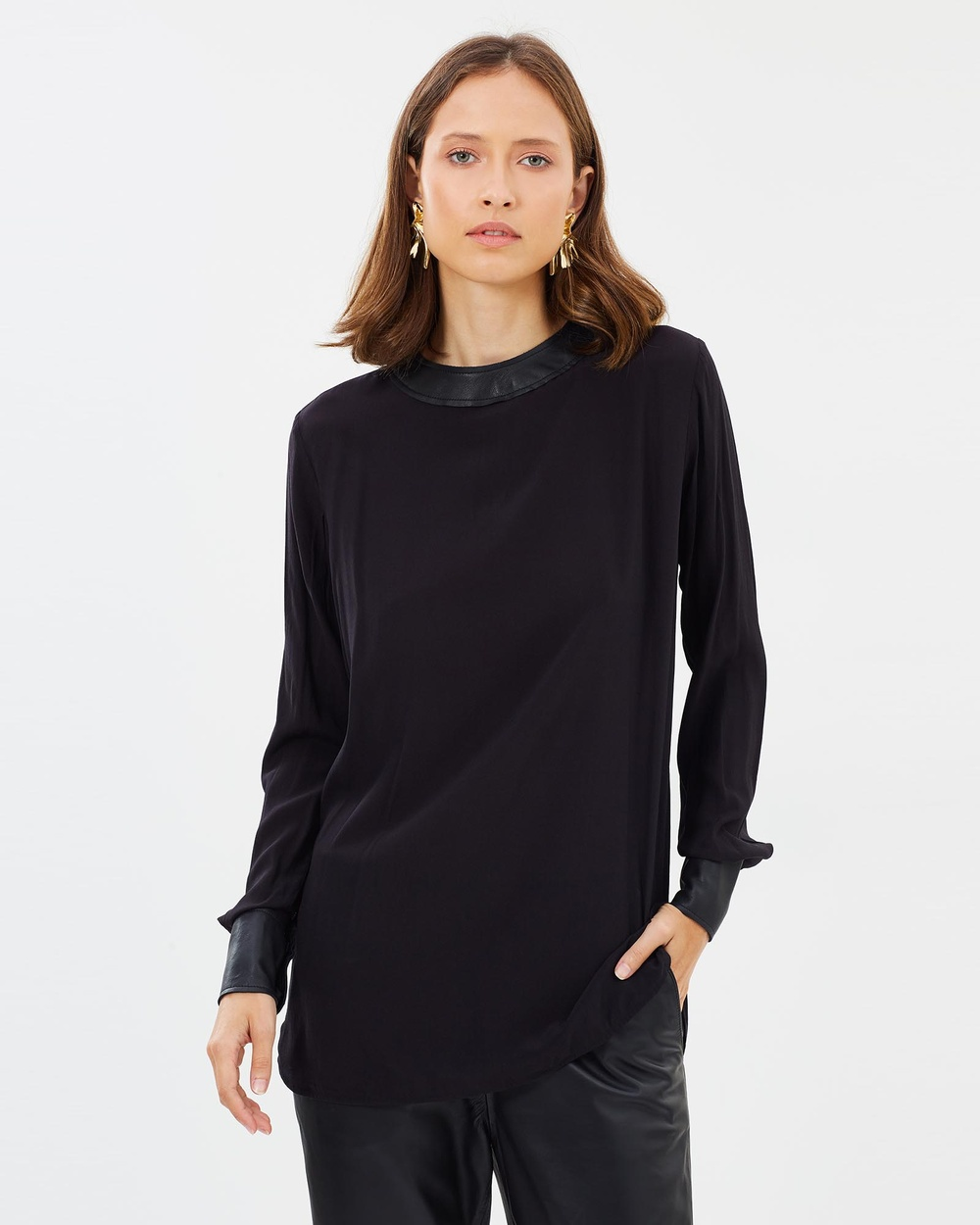RAW by RAW Skylar Top Tops Jet Black Skylar Top