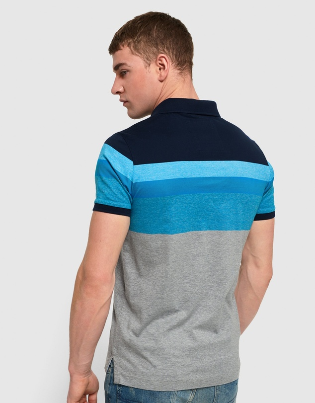 Superdry - Miami Feeder Polo Shirt