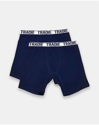 TRADIE - Big Fella 2pk Long Leg Trunks