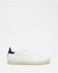Armani Exchange - Tumbled Action Sneakers - Men's