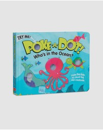 Melissa & Doug - Poke-A-Dot - Who's in the Ocean Book