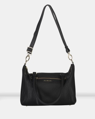Saben Gita Leather Cross body Handbag - Handbags (Black)
