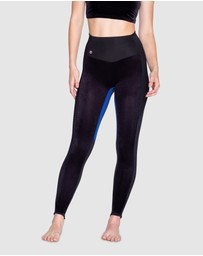 Giroud - Black Edition Velvet Panneau Leggings