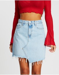 Nobody Denim - Piper Skewed Skirt