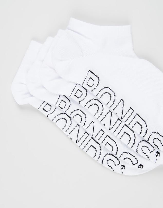 Women Logo Lightweight Low Cut 4-Pack Socks