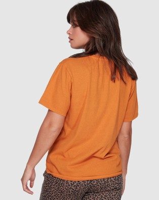 Element Places To Go Tee - T-Shirts & Singlets (GOLDEN)